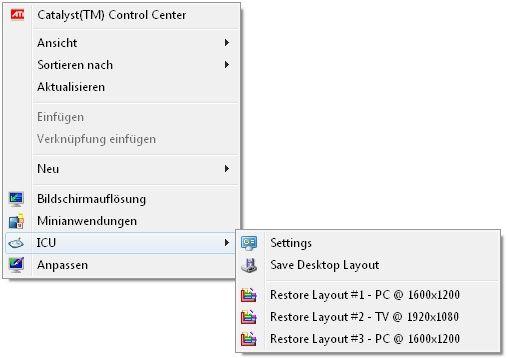 Vorschau Icon Configuration Utility - Bild 2