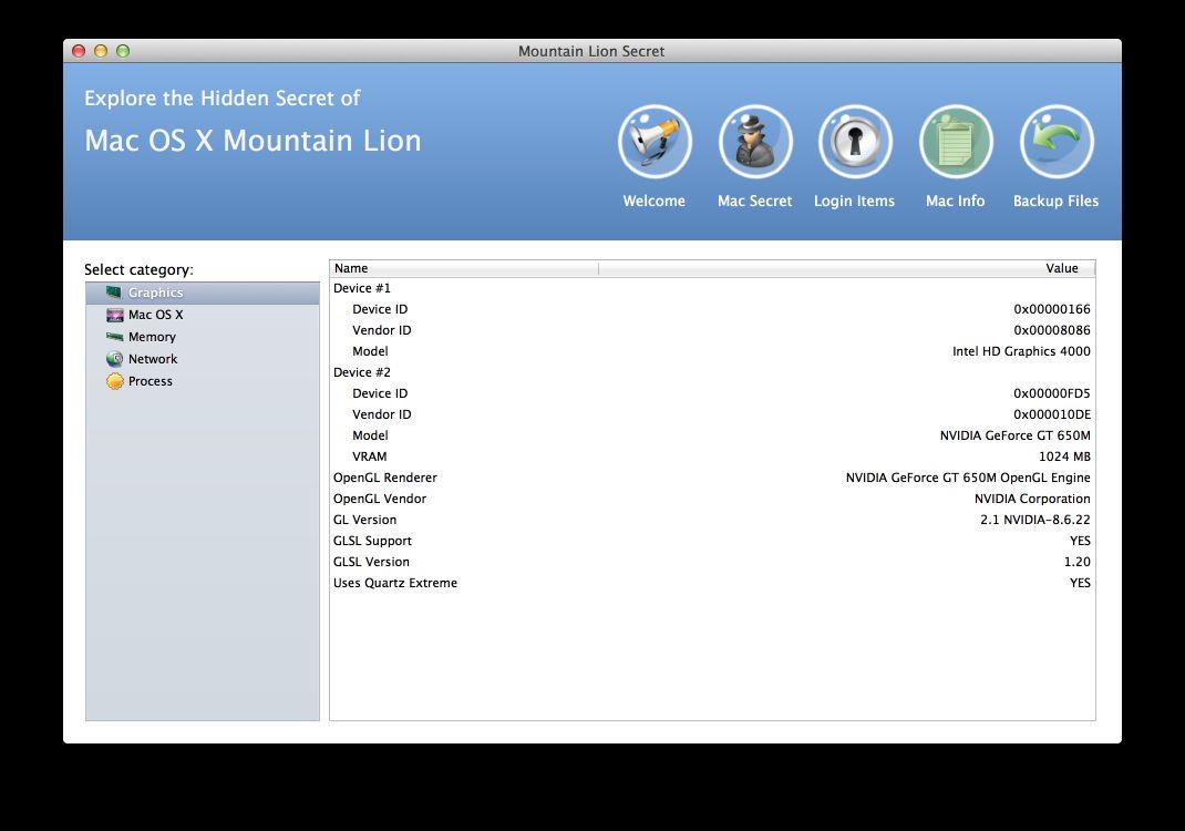 Vorschau Mountain Lion Secrets for Mac - Bild 2