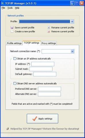 Vorschau TCP IP Manager - Bild 2