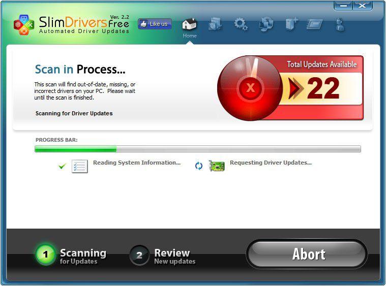 Vorschau SlimDrivers Free - Bild 2