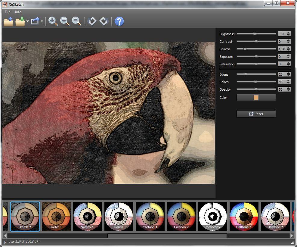 Vorschau XnSketch for Linux - Bild 2