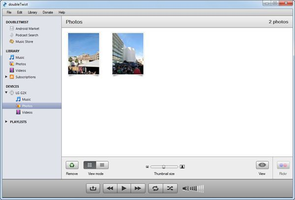 Vorschau doubleTwist for Windows - Bild 2