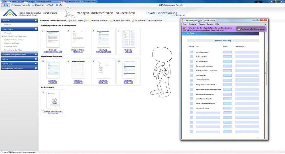 Vorschau Vorlagen, Musterschreiben und Checklisten 2013-14 - Bild 2