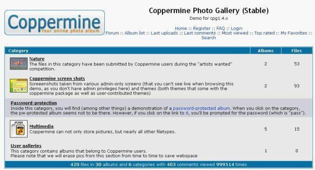 Vorschau Coppermine Photo Gallery - Bild 2