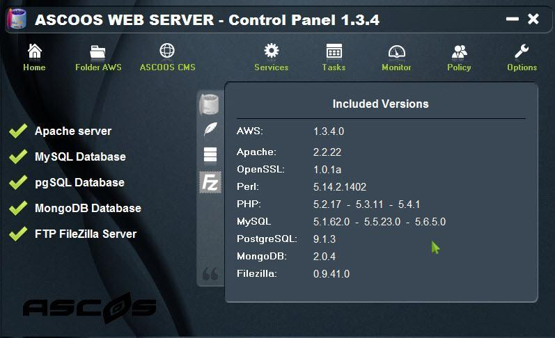 Vorschau ASCOOS Web Server - Bild 2