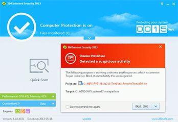 Vorschau 360 Internet Security - Bild 2
