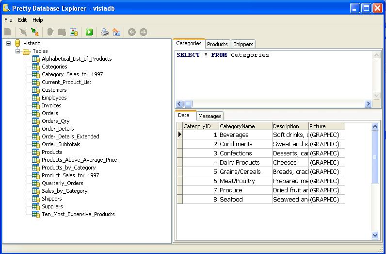 Vorschau Pretty Database Explorer - Bild 2