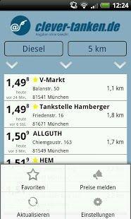 Vorschau clever-tanken.de for Android - Bild 2