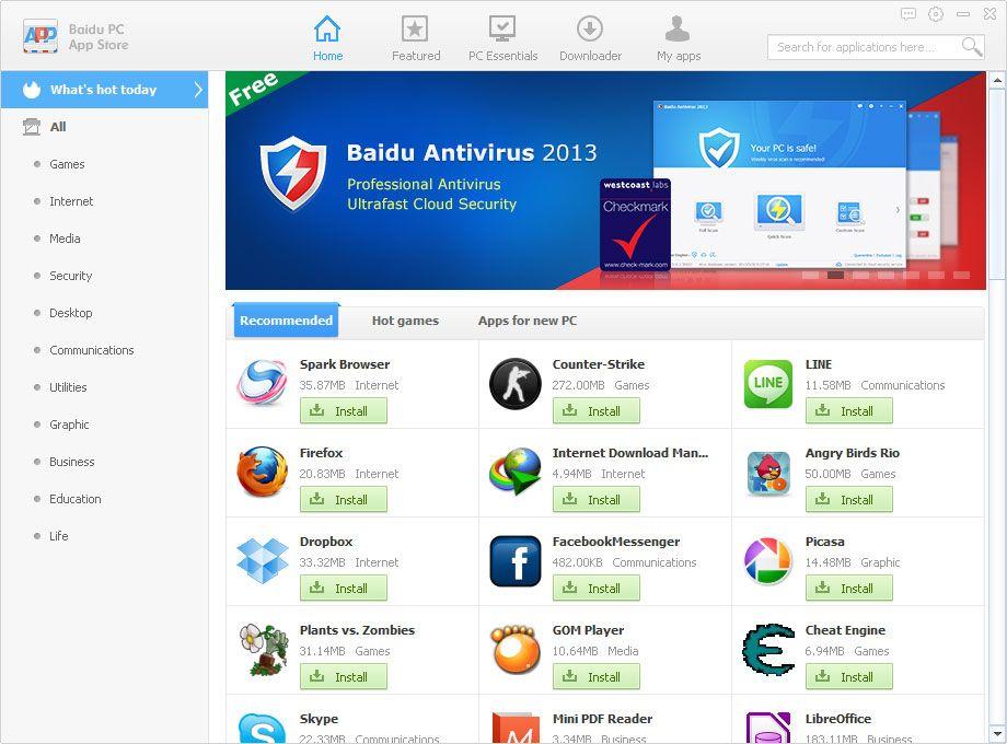 Vorschau Baidu PC Faster - Bild 2