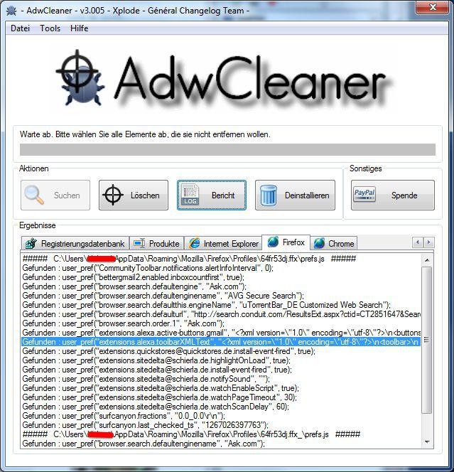 Vorschau AdwCleaner - Bild 2