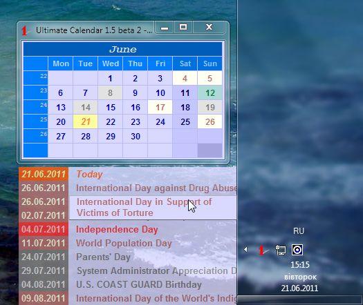 Vorschau Ultimate Calendar - Bild 2