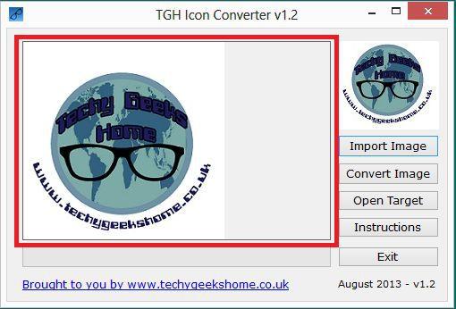 Vorschau TGH Icon Converter - Bild 2