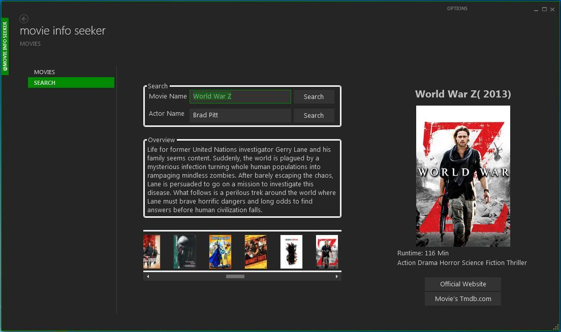Vorschau Movie Info Seeker - Bild 2