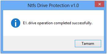 Vorschau NTFS Drive Protection - Bild 2