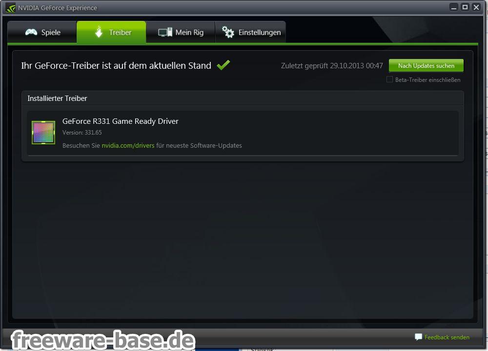 Vorschau NVIDIA GeForce Experience - Bild 2