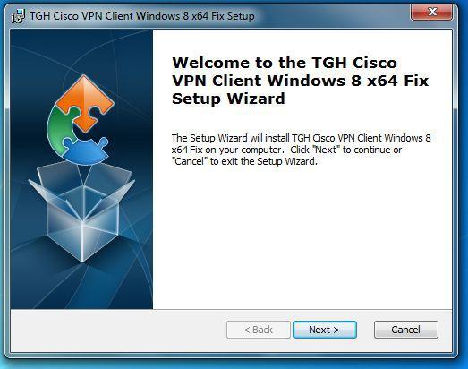 Vorschau Cisco VPN Client Fix for Windows 8 - Bild 2
