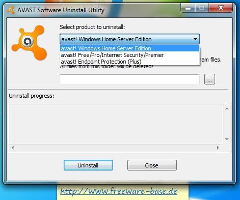 Vorschau Avast! Uninstall Utility - Bild 2