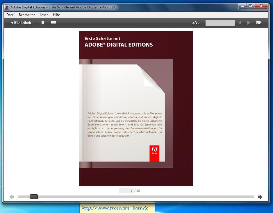 Vorschau Adobe Digital Editions - Bild 2