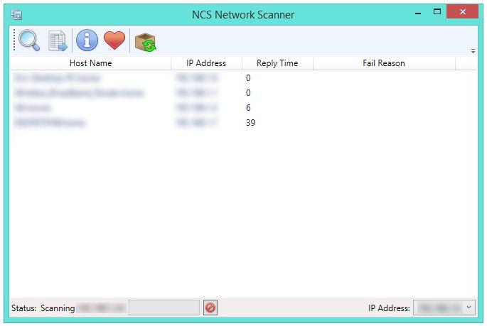 Vorschau NCS Network Scanner - Bild 2