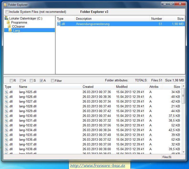 Vorschau Folder Explorer - Bild 2