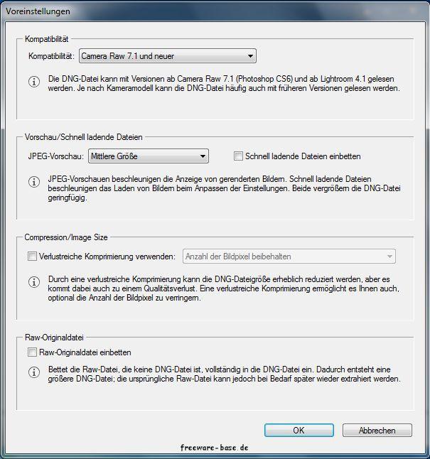 Vorschau Adobe DNG Converter - Bild 2