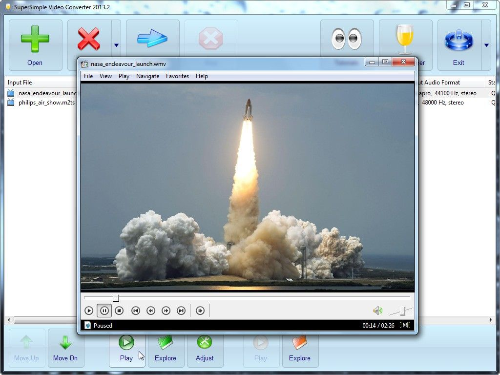 Vorschau SuperSimple Video Converter - Bild 2