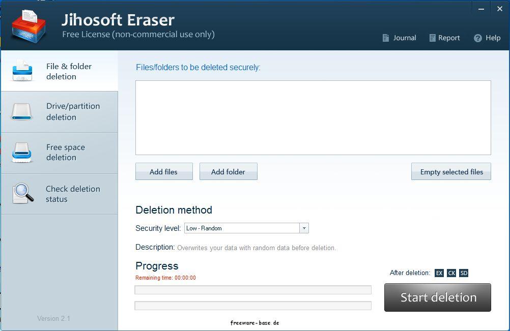 Vorschau Jihosoft Free Eraser - Bild 2