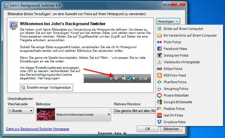 Vorschau Johns Background Switcher - Bild 2