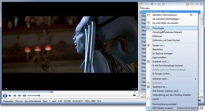 Vorschau wPlayer - Bild 2