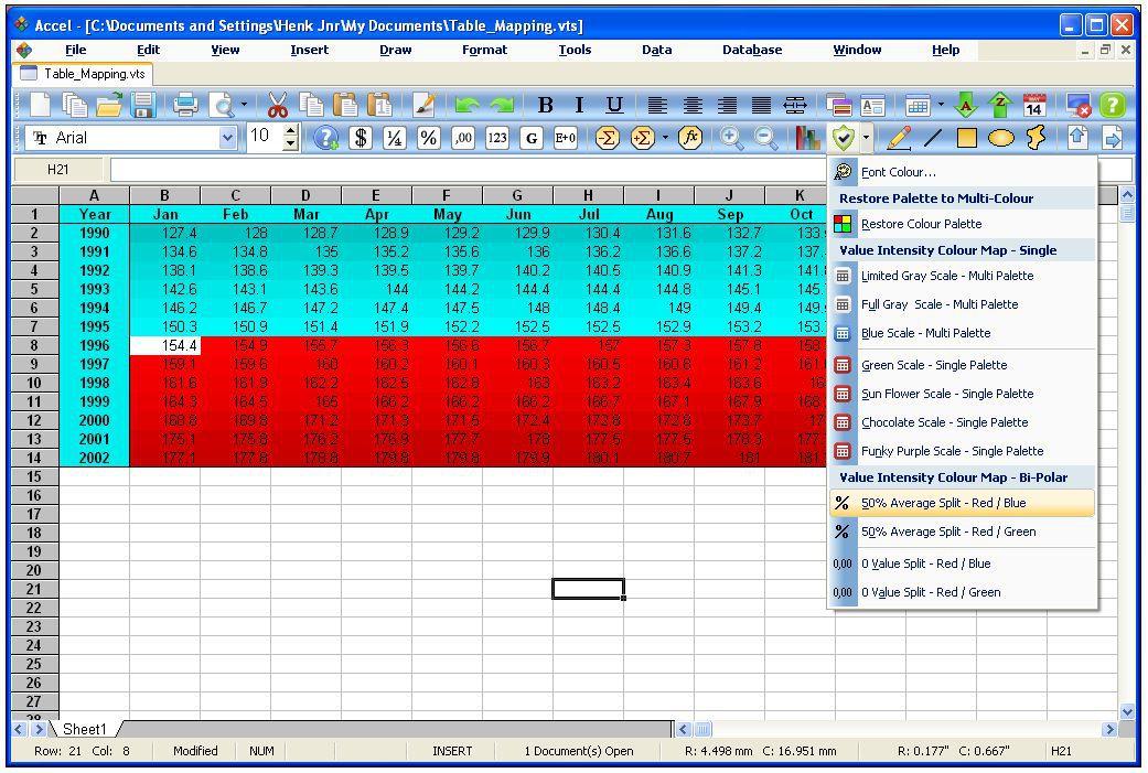Vorschau SSuite Accel Spreadsheet - Bild 2