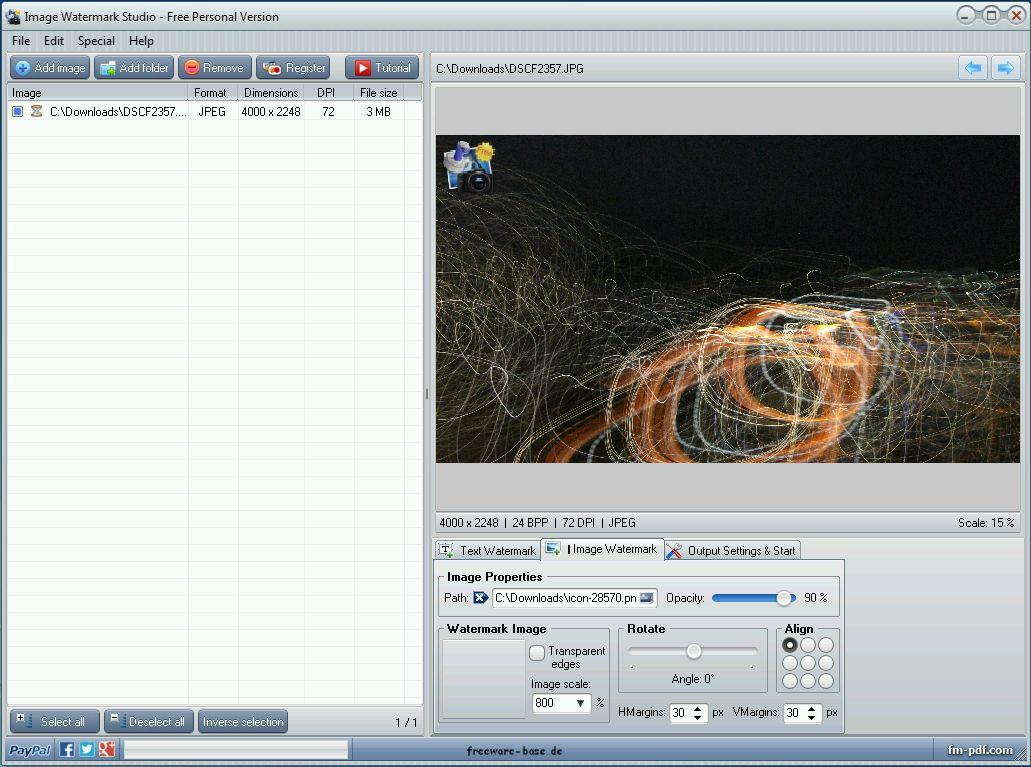 Vorschau Image Watermark Studio - Bild 2