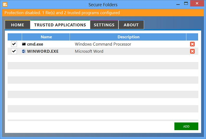 Vorschau Secure Folders - Bild 2