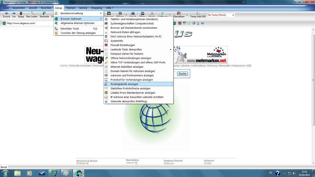 Vorschau NetSeeker Browser - Bild 2