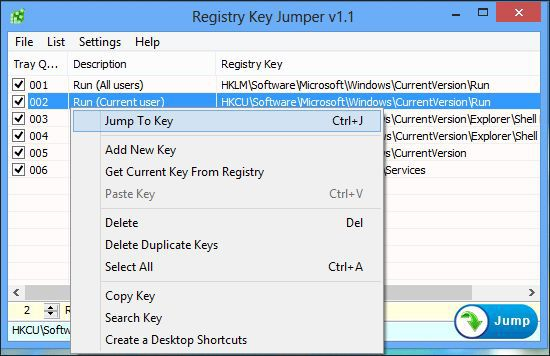 Vorschau Registry Key Jumper - Bild 2