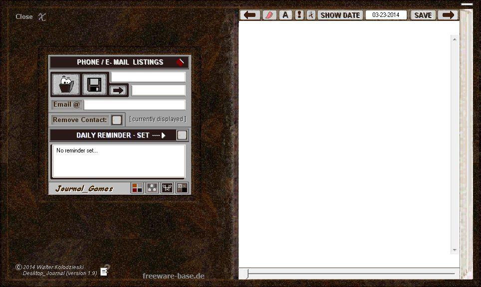 Vorschau Desktop Journal - Bild 2