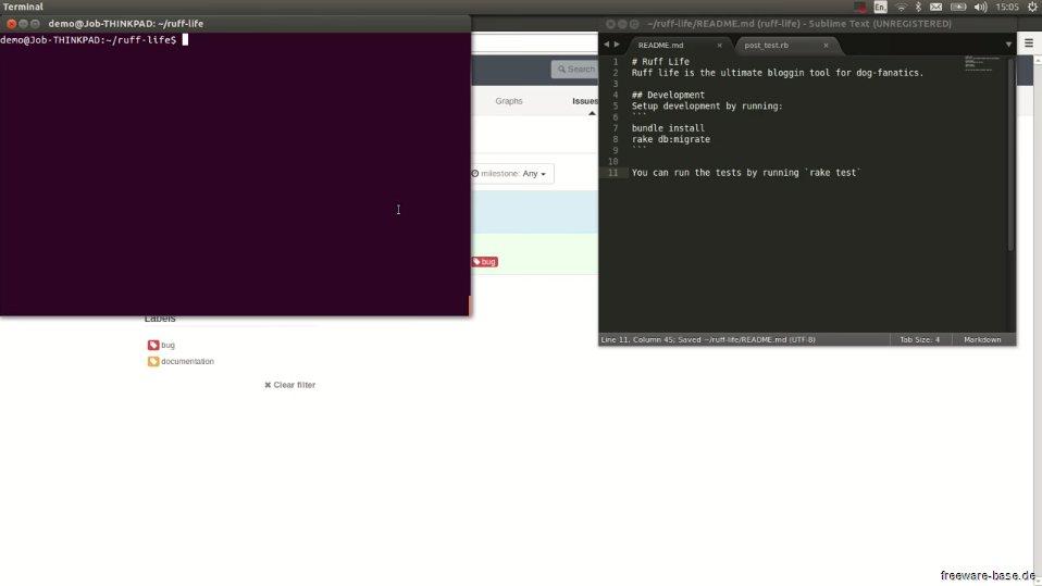 Vorschau Bitnami GitLab für Linux - Bild 2