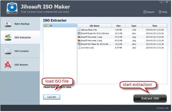 Vorschau Jihosoft ISO Maker Free - Bild 2