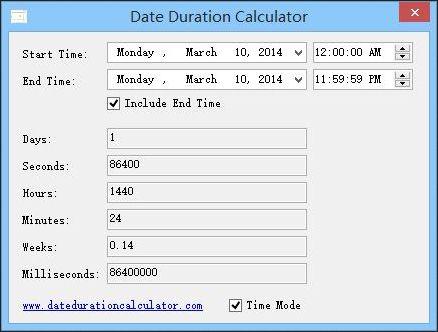 Vorschau Date Duration Calculator - Bild 2