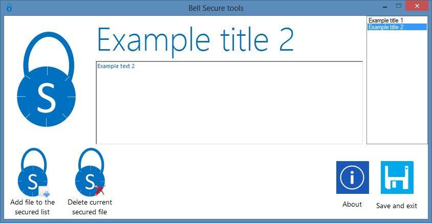 Vorschau Bell Secure Tools - Bild 2