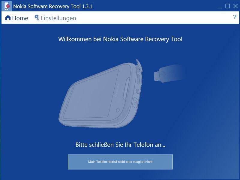 Vorschau Nokia Software Recovery Tool - Bild 2