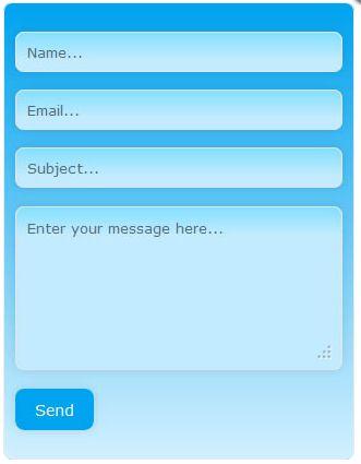 Vorschau PHP Contact Form - Bild 2