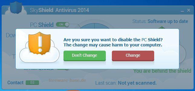 Vorschau SkyShield Antivirus - Bild 2