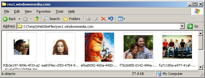 Vorschau WebSiteSniffer - Bild 2
