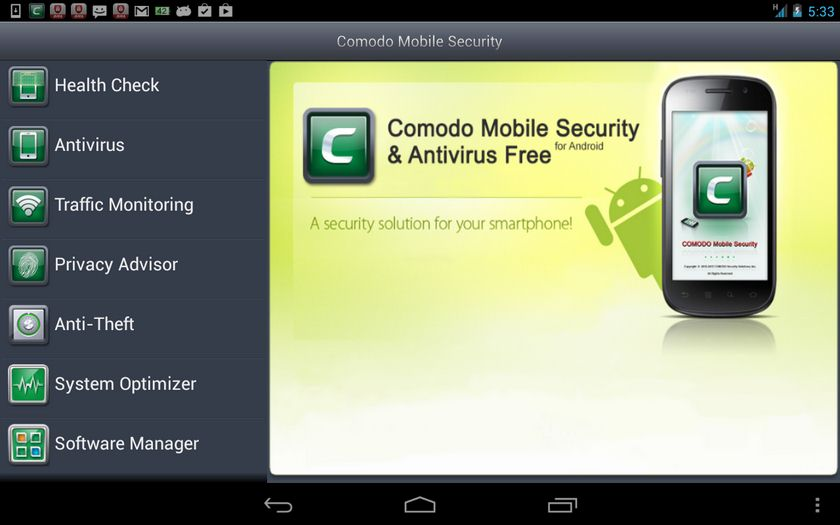 Vorschau Comodo Mobile Security for Android - Bild 2