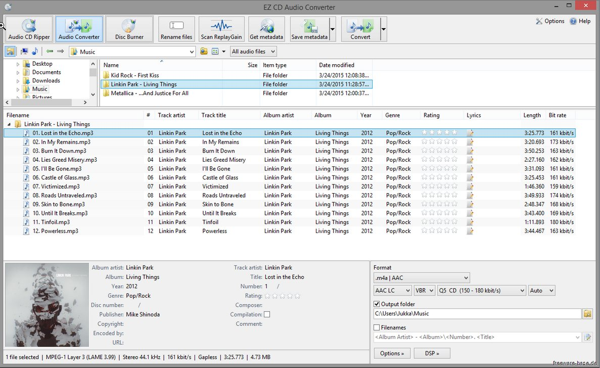 Vorschau EZ CD Audio Converter Free - Bild 2