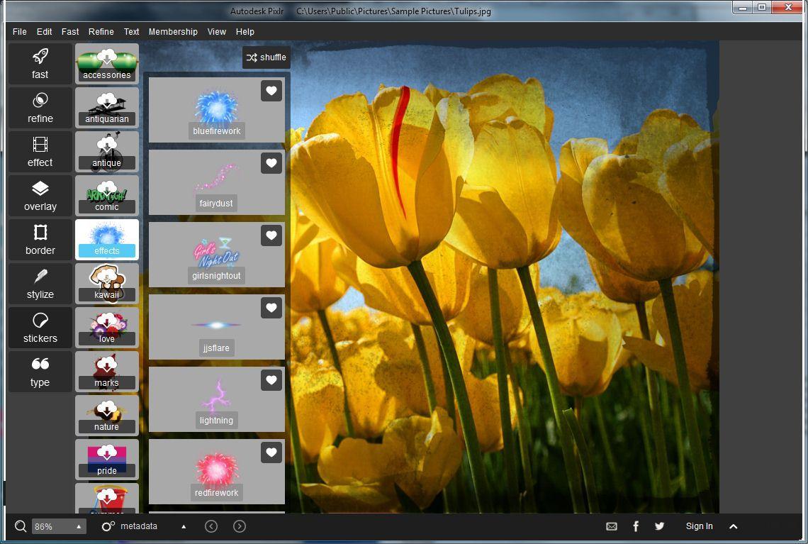 Vorschau Pixlr Essentials Free - Bild 2