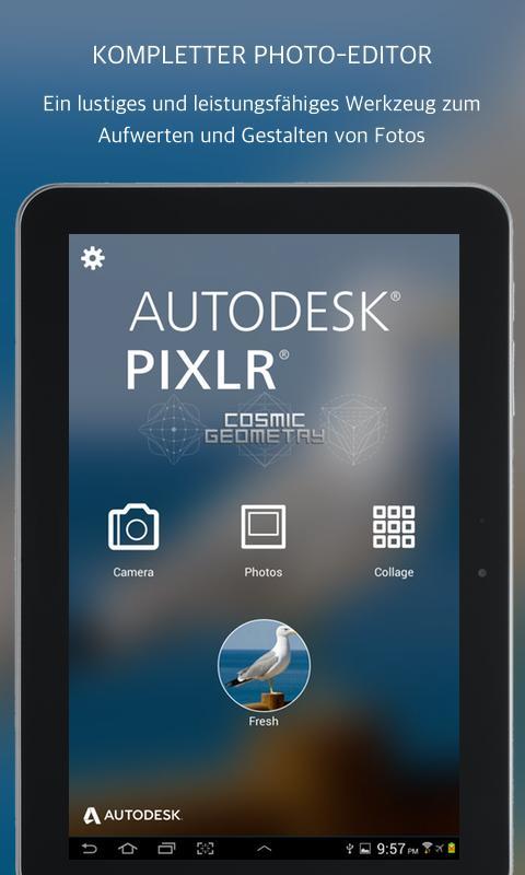 Vorschau Autodesk Pixlr Express for Android - Bild 2