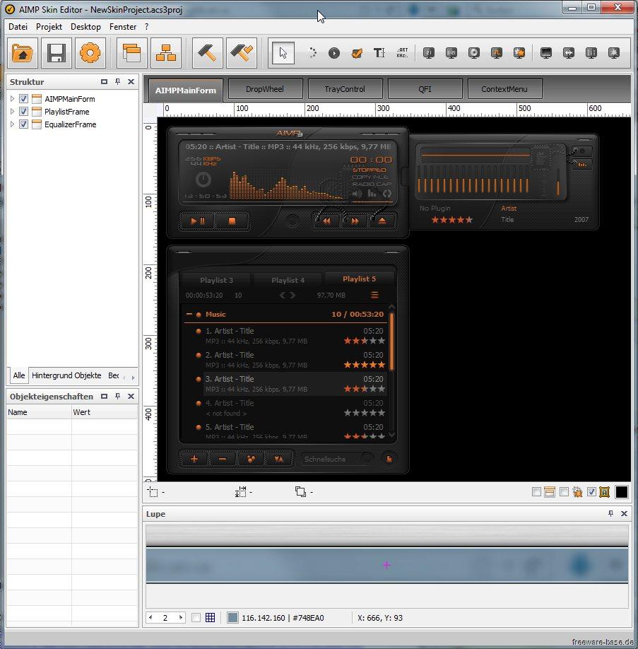 Vorschau AIMP Skin Editor - Bild 2