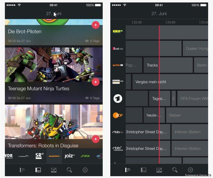 Vorschau Magine TV for iPhone und iPad - Bild 2