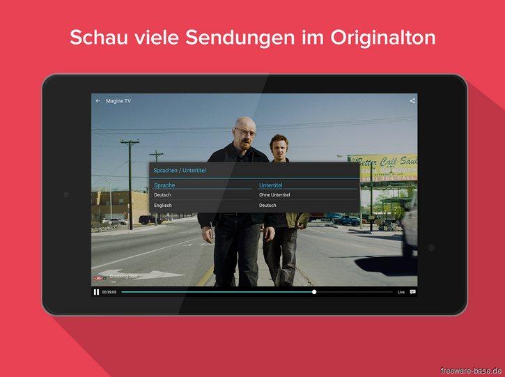 Vorschau Magine TV for Android - Bild 2